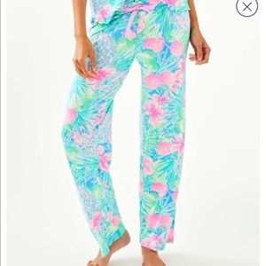 """Lilly Pulitzer Intimates & Sleepwear - LILLY PULITZER """"Button-Front Top & Pant"""" 2-PIECES"""